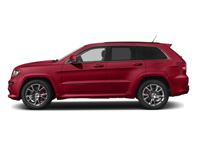 Deep Cherry Red Crystal Pearl 2013 Jeep Grand Cherokee Pictures Grand Cherokee Utility 4D SRT-8 4WD photos side view