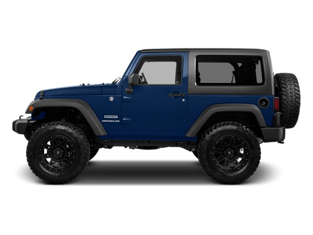 True Blue Pearl 2013 Jeep Wrangler Pictures Wrangler Utility 2D Rubicon 4WD photos side view