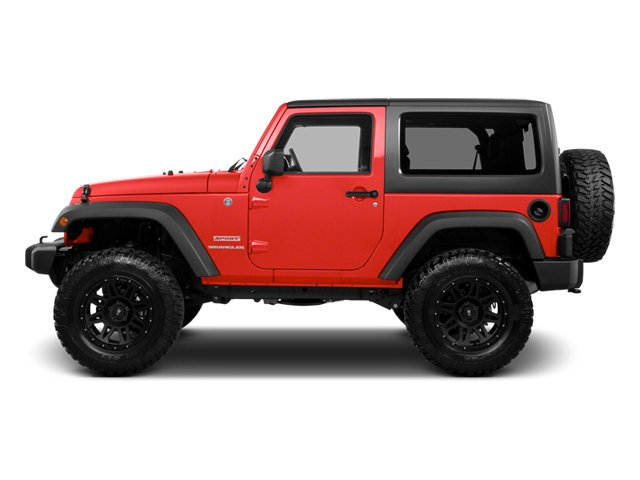 Rock Lobster 2013 Jeep Wrangler Pictures Wrangler Utility 2D Rubicon 4WD photos side view