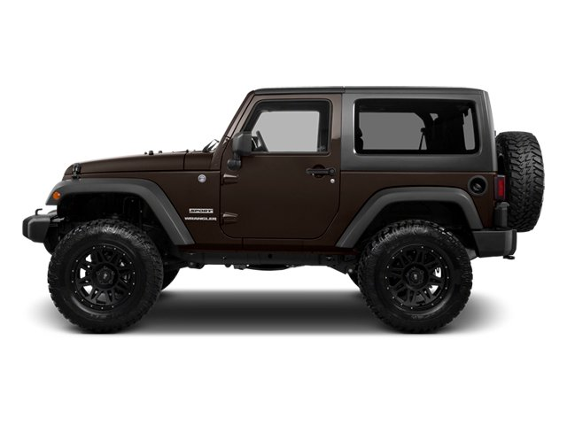 Rugged Brown Pearl 2013 Jeep Wrangler Pictures Wrangler Utility 2D Rubicon 4WD photos side view