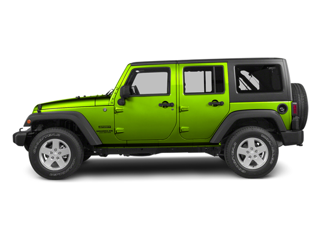 Gecko Pearl 2013 Jeep Wrangler Unlimited Pictures Wrangler Unlimited Utility 4D Unlimited Sahara 4WD photos side view