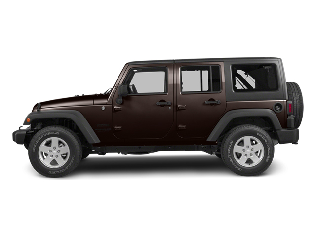 Rugged Brown Pearl 2013 Jeep Wrangler Unlimited Pictures Wrangler Unlimited Utility 4D Unlimited Sahara 4WD photos side view