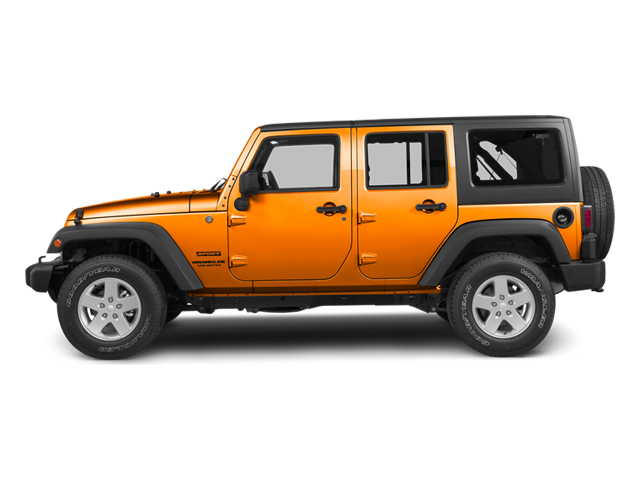 Dozer 2013 Jeep Wrangler Unlimited Pictures Wrangler Unlimited Utility 4D Unlimited Sahara 4WD photos side view