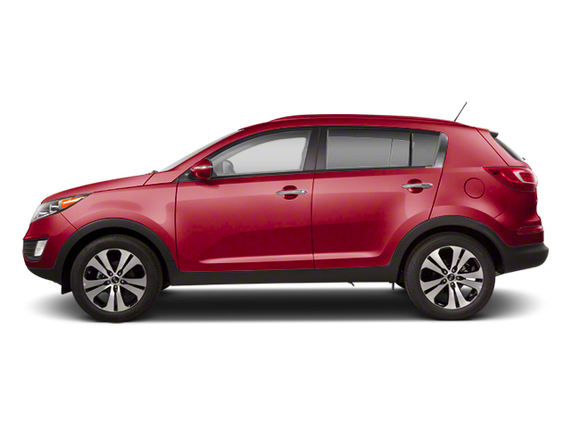 Signal Red 2013 Kia Sportage Pictures Sportage Utility 4D LX 2WD I4 photos side view