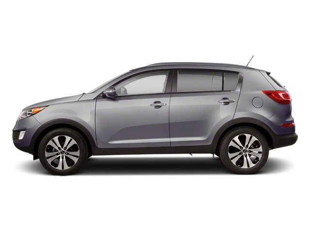 Mineral Silver 2013 Kia Sportage Pictures Sportage Utility 4D EX 2WD I4 photos side view