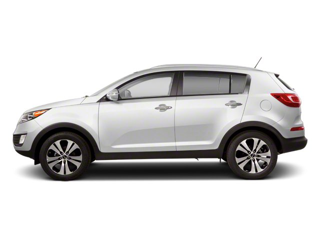 Clear White 2013 Kia Sportage Pictures Sportage Utility 4D LX 2WD I4 photos side view