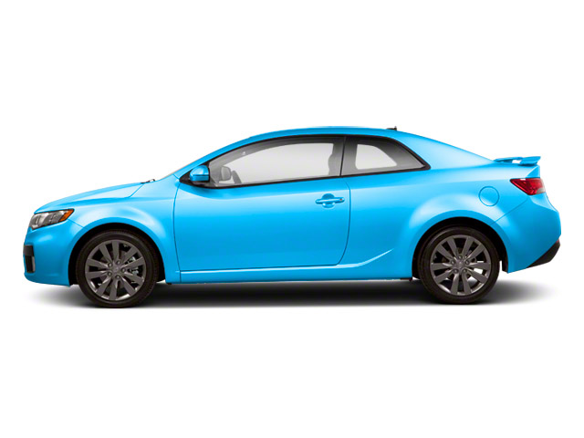 Abyss Blue Pearl Metallic 2013 Kia Forte Koup Pictures Forte Koup Coupe 2D SX I4 photos side view