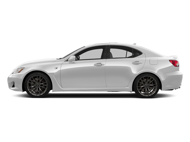 Ultra White 2013 Lexus IS F Pictures IS F Sedan 4D IS-F V8 photos side view