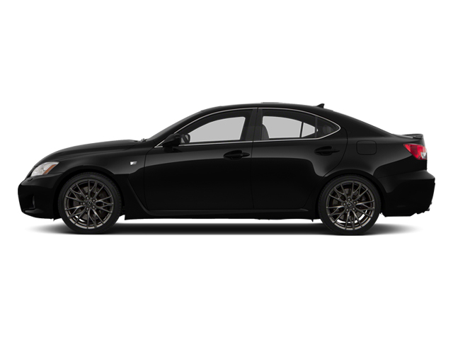 Obsidian 2013 Lexus IS F Pictures IS F Sedan 4D IS-F V8 photos side view
