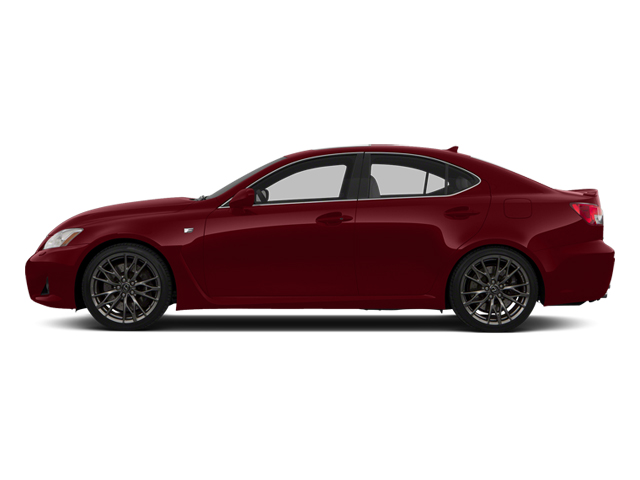 Matador Red Mica 2013 Lexus IS F Pictures IS F Sedan 4D IS-F V8 photos side view