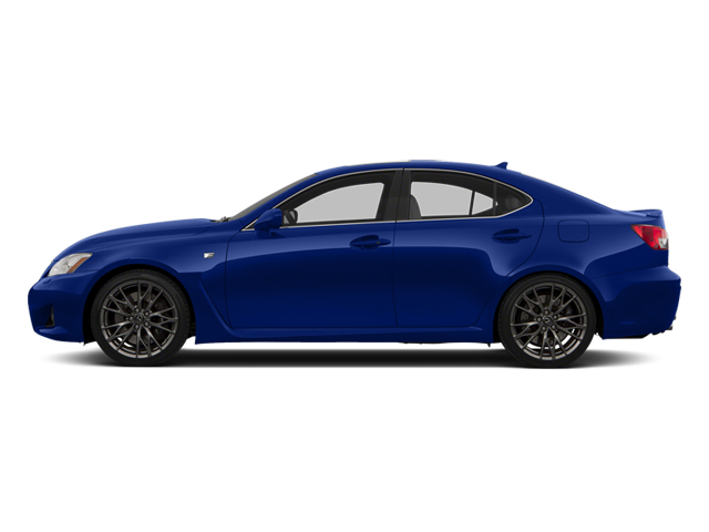 Ultrasonic Blue Mica 2013 Lexus IS F Pictures IS F Sedan 4D IS-F V8 photos side view