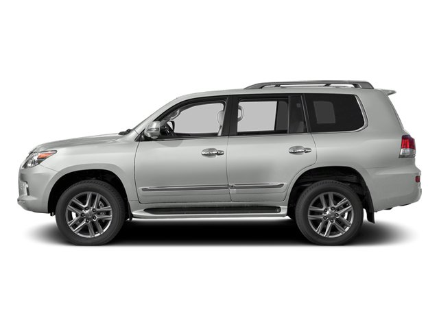 Starfire Pearl 2013 Lexus LX 570 Pictures LX 570 Utility 4D 4WD photos side view