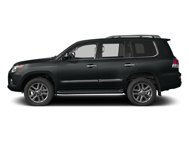 Nebula Gray Pearl 2013 Lexus LX 570 Pictures LX 570 Utility 4D 4WD photos side view