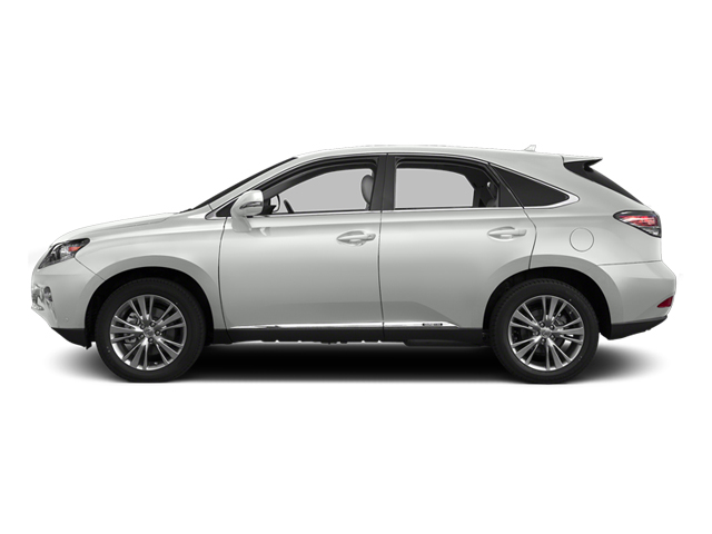 Starfire Pearl 2013 Lexus RX 450h Pictures RX 450h Utility 4D AWD photos side view