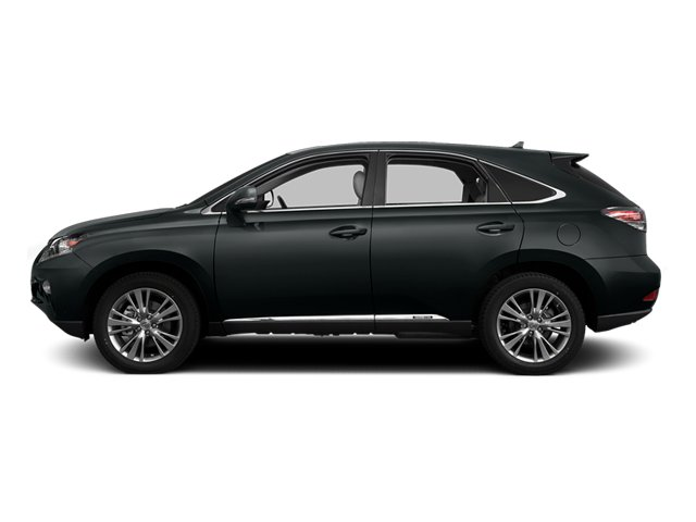 Nebula Gray Pearl 2013 Lexus RX 450h Pictures RX 450h Utility 4D AWD photos side view