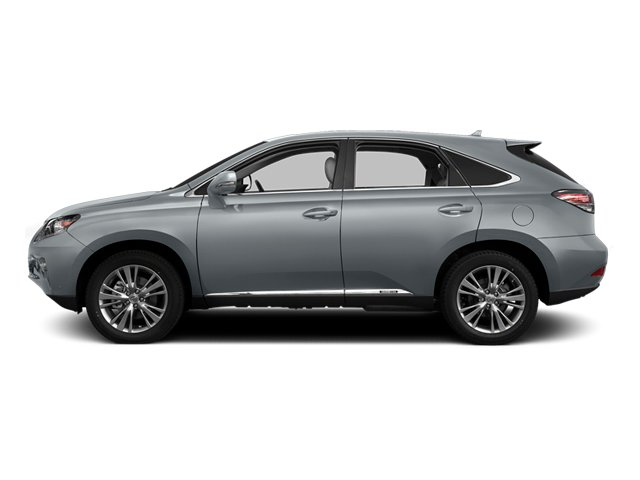 Silver Lining Metallic 2013 Lexus RX 450h Pictures RX 450h Utility 4D AWD photos side view