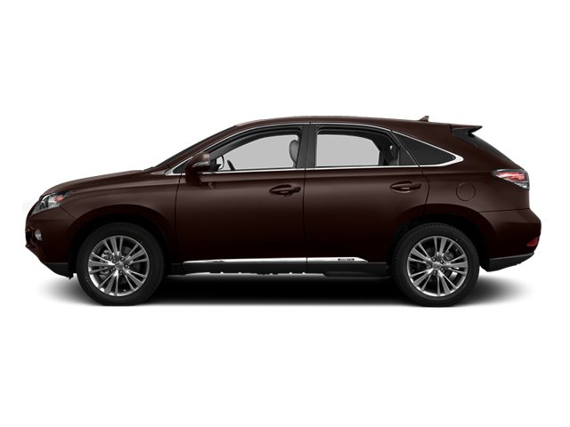 Fire Agate Pearl 2013 Lexus RX 450h Pictures RX 450h Utility 4D AWD photos side view