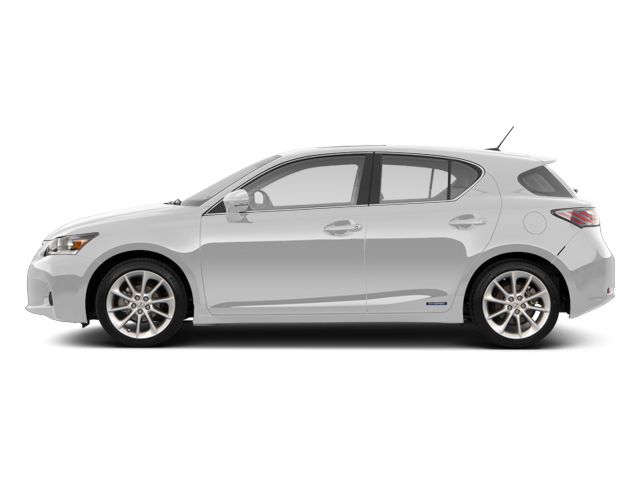 Ultra White 2013 Lexus CT 200h Pictures CT 200h Hatchback 5D CT200h I4 Hybrid photos side view