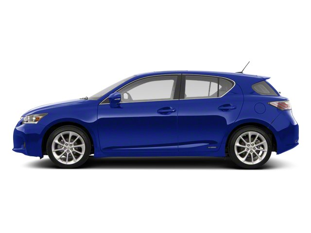 Ultrasonic Blue Mica 2013 Lexus CT 200h Pictures CT 200h Hatchback 5D CT200h I4 Hybrid photos side view