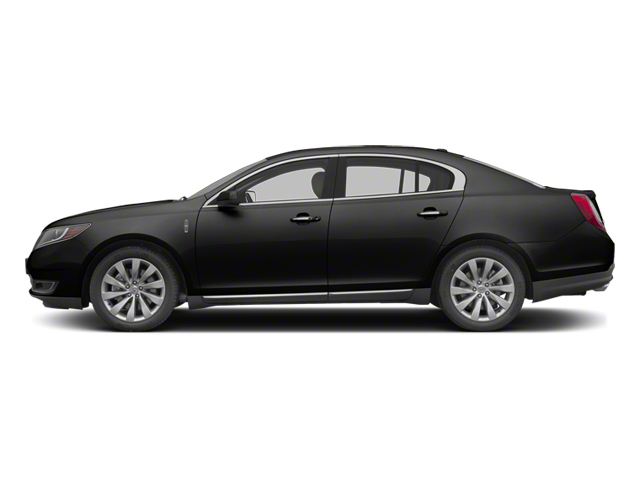 Tuxedo Black 2013 Lincoln MKS Pictures MKS Sedan 4D EcoBoost AWD photos side view