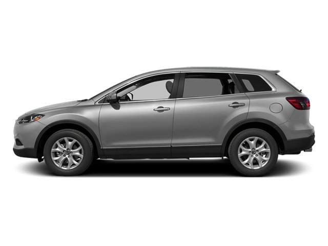 Liquid Silver Metallic 2013 Mazda CX-9 Pictures CX-9 Utility 4D Sport AWD V6 photos side view