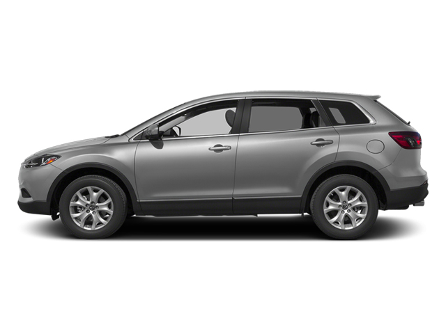 Liquid Silver Metallic 2013 Mazda CX-9 Pictures CX-9 Utility 4D GT AWD V6 photos side view
