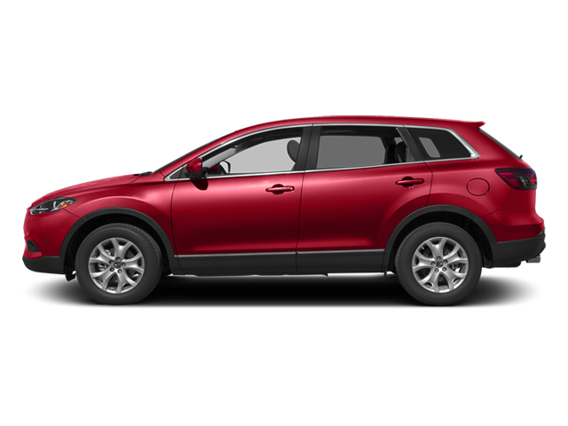 Zeal Red Mica 2013 Mazda CX-9 Pictures CX-9 Utility 4D GT AWD V6 photos side view