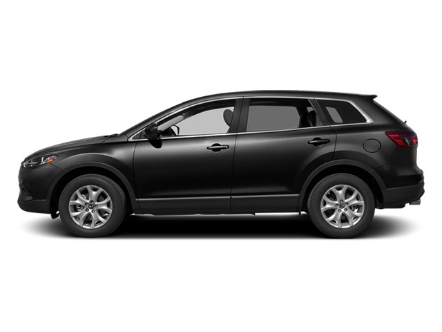 Brilliant Black 2013 Mazda CX-9 Pictures CX-9 Utility 4D Sport AWD V6 photos side view