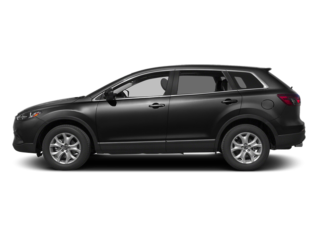 Brilliant Black 2013 Mazda CX-9 Pictures CX-9 Utility 4D GT AWD V6 photos side view