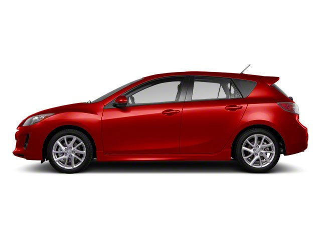 Velocity Red Mica 2013 Mazda Mazda3 Pictures Mazda3 Wagon 5D s GT I4 photos side view