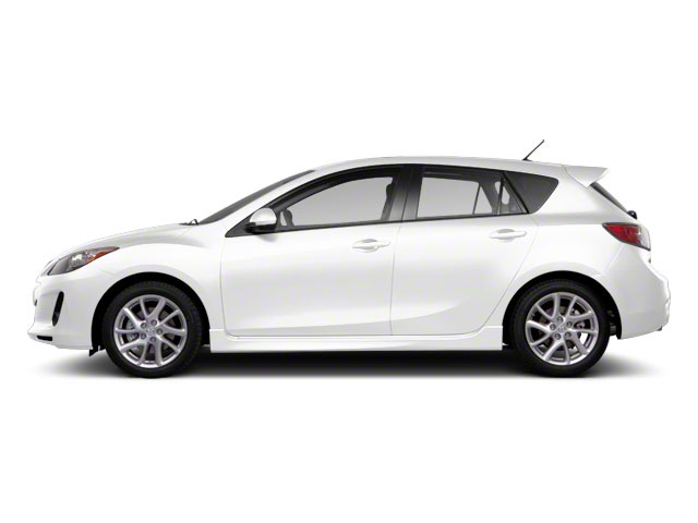 Crystal White Pearl Mica 2013 Mazda Mazda3 Pictures Mazda3 Wagon 5D s GT I4 photos side view