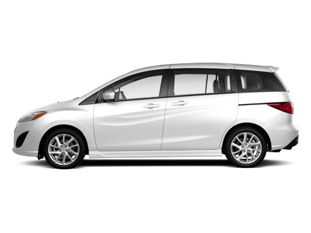 Crystal White Pearl 2013 Mazda Mazda5 Pictures Mazda5 Wagon 5D Touring I4 photos side view