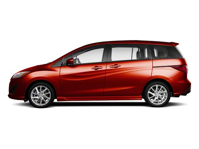Zeal Red Mica 2013 Mazda Mazda5 Pictures Mazda5 Wagon 5D Touring I4 photos side view