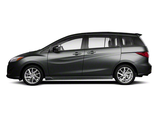 Meteor Gray Mica 2013 Mazda Mazda5 Pictures Mazda5 Wagon 5D Touring I4 photos side view