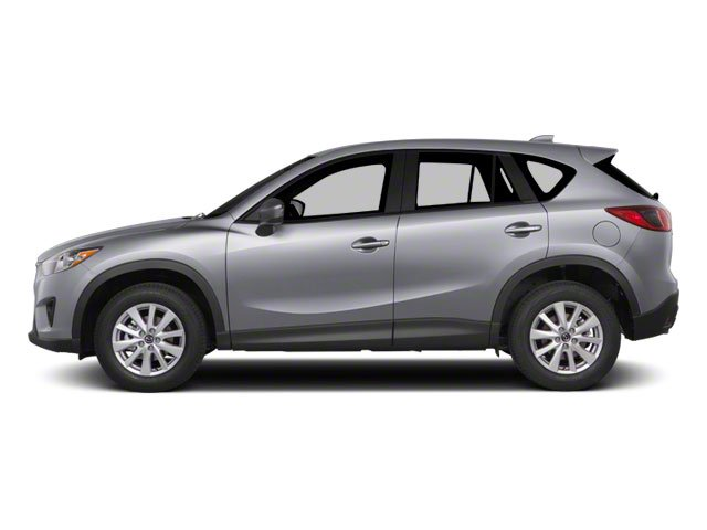 Liquid Silver Metallic 2013 Mazda CX-5 Pictures CX-5 Utility 4D Touring AWD photos side view