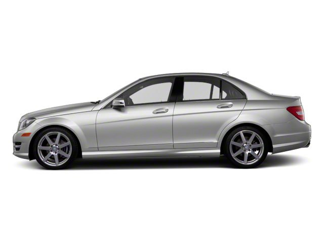 Iridium Silver Metallic 2013 Mercedes-Benz C-Class Pictures C-Class Sport Sedan 4D C250 photos side view
