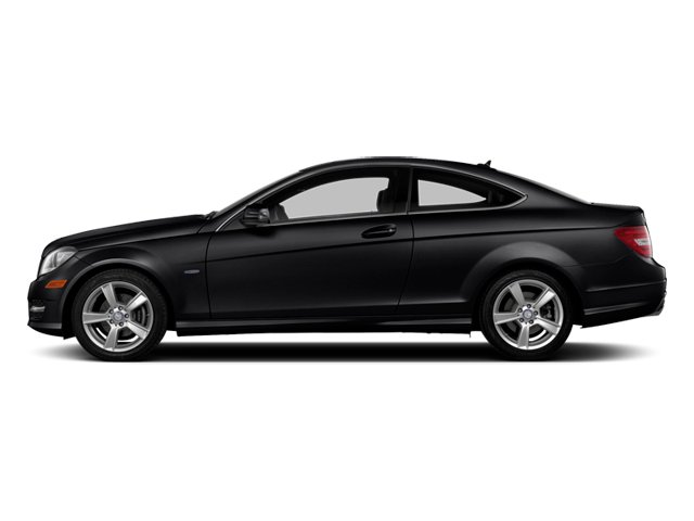 Black 2013 Mercedes-Benz C-Class Pictures C-Class Coupe 2D C250 photos side view