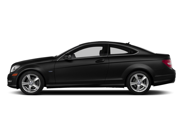 Magnetite Black Metallic 2013 Mercedes-Benz C-Class Pictures C-Class Coupe 2D C250 photos side view