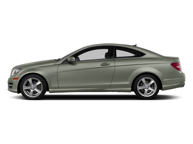 Palladium Silver Metallic 2013 Mercedes-Benz C-Class Pictures C-Class Coupe 2D C250 photos side view
