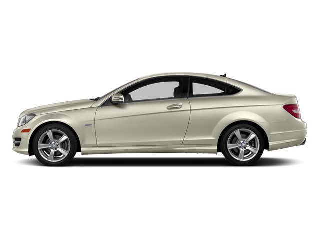 Diamond White Metallic 2013 Mercedes-Benz C-Class Pictures C-Class Coupe 2D C250 photos side view