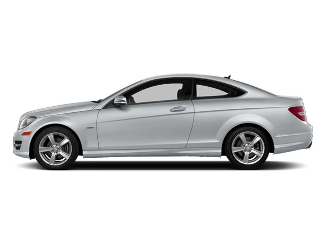 Diamond Silver Metallic 2013 Mercedes-Benz C-Class Pictures C-Class Coupe 2D C250 photos side view