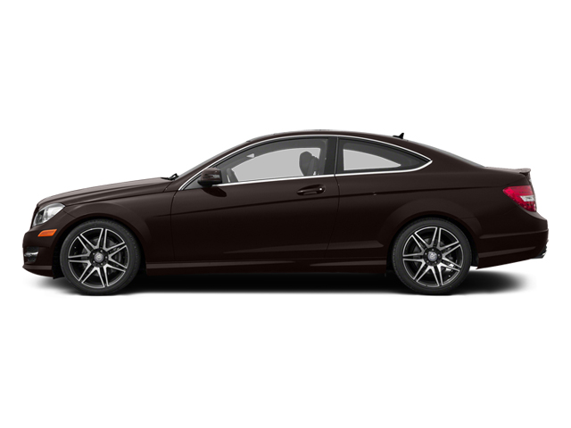 Cuprite Brown Metallic 2013 Mercedes-Benz C-Class Pictures C-Class Coupe 2D C350 AWD photos side view