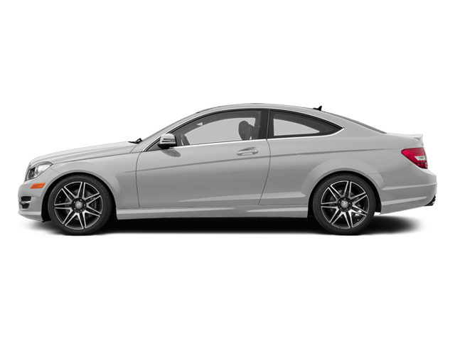 Iridium Silver Metallic 2013 Mercedes-Benz C-Class Pictures C-Class Coupe 2D C350 AWD photos side view