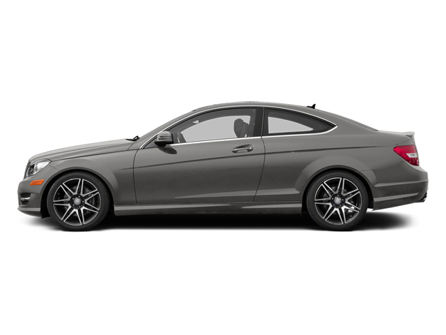 Palladium Silver Metallic 2013 Mercedes-Benz C-Class Pictures C-Class Coupe 2D C350 AWD photos side view