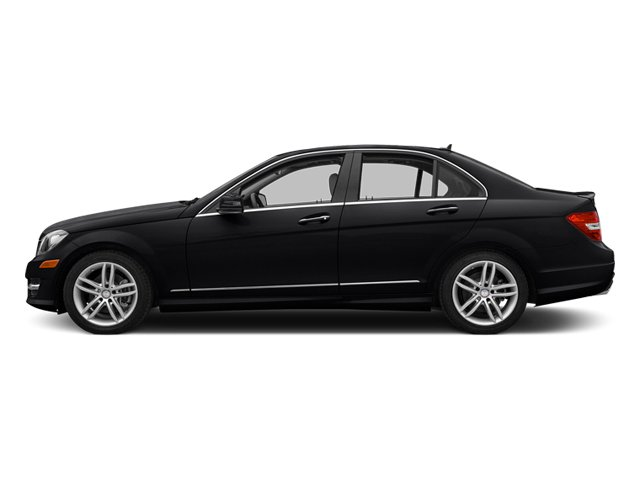 Black 2013 Mercedes-Benz C-Class Pictures C-Class Sedan 4D C250 photos side view