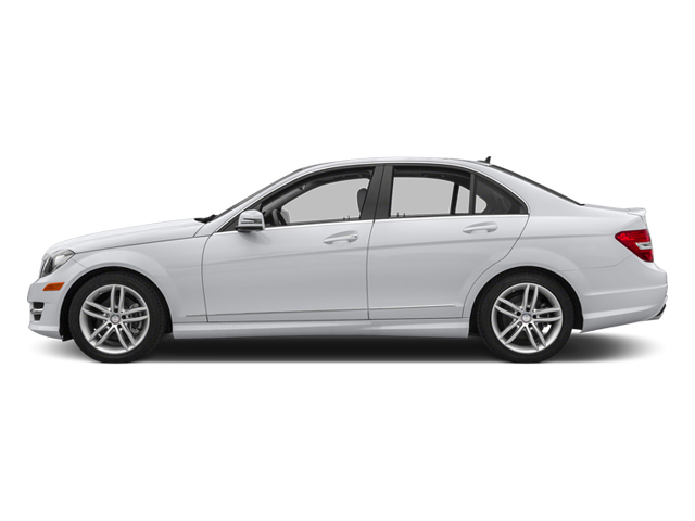 Polar White 2013 Mercedes-Benz C-Class Pictures C-Class Sedan 4D C250 photos side view