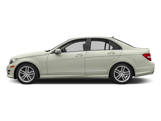 Iridium Silver Metallic 2013 Mercedes-Benz C-Class Pictures C-Class Sedan 4D C250 photos side view