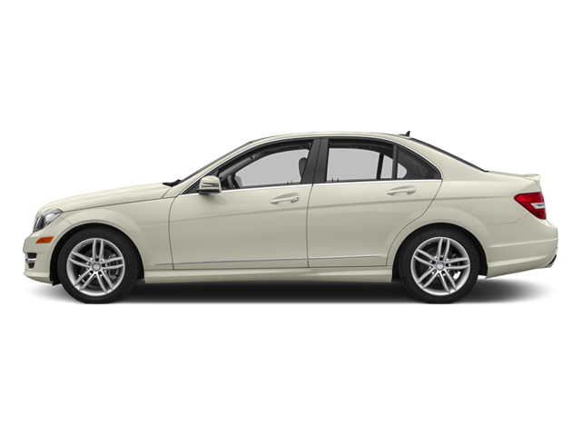 Diamond White Metallic 2013 Mercedes-Benz C-Class Pictures C-Class Sedan 4D C250 photos side view