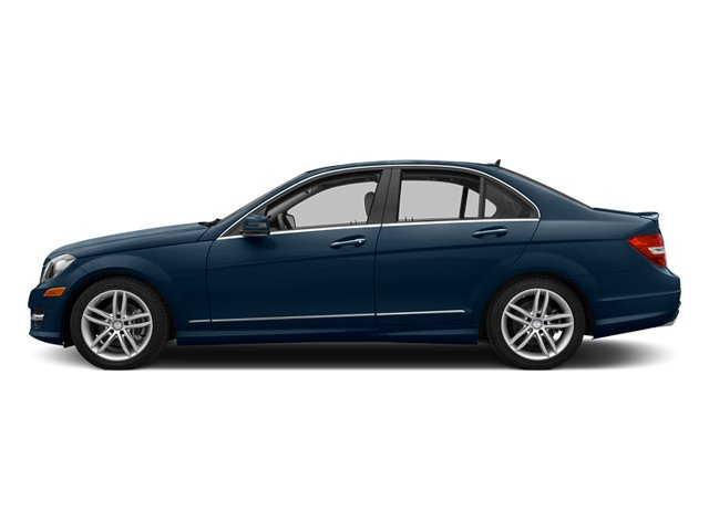 Lunar Blue Metallic 2013 Mercedes-Benz C-Class Pictures C-Class Sedan 4D C250 photos side view