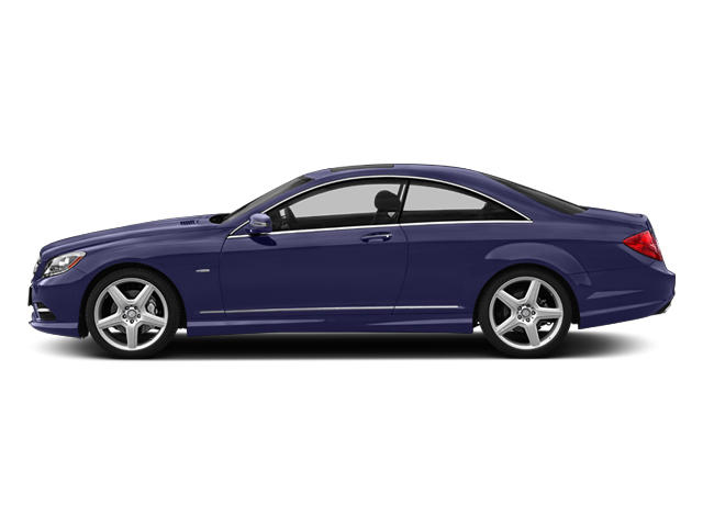 designo Mystic Blue Metallic 2013 Mercedes-Benz CL-Class Pictures CL-Class Coupe 2D CL600 photos side view
